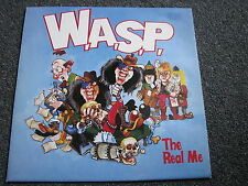 WASP-W.A.S.P.-The Real Me 12 inch Maxi LP-Posterbag Cover-UK-1989-Heavy Metal