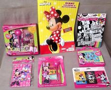 MINNIE MOUSE Bag of Goodies- Lot of 7 Piece Perfect For Little Hands VERY CUTE
