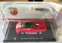 "DIE CAST "" FIAT ABARTH 3000 (SE 022) - 1971 "" + TECA RIGIDA BOX 2 SCALA 1/43"