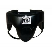 Cleto Reyes Foul Protector Black Leather Groin Guard Protection Boxing Sparring