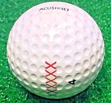 RARE VINTAGE ACUSHNET XXXXXX GOLF BALL #4 Mint Condition