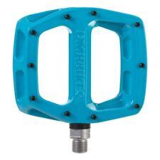 DMR V12 Flat wide Mountain MTB bike Flattie Freeride pedals - Blue