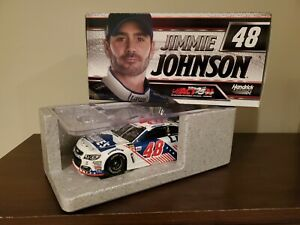 JIMMIE JOHNSON #48 2017 LOWES PATRIOTIC 1/24 SCALE NEW FREE SHIPPING