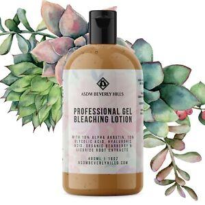 Bleaching Gel Lotion for Body   10% Alpha Arbutin, 15% Glycolic 16oz