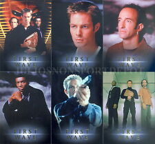 FIRST WAVE 2001 RITTENHOUSE ARCHIVES PREVIEW CARD SET FW1 TO FW6 PROMO