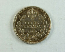 1906 Canada 5 Cents Edward VII; Old album collection!