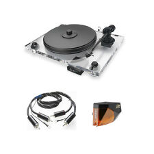 Pro-Ject Xperience Acryl SB SuperPack Plattenspieler + 2M Bronze + Speed Box S