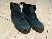 Doc Martens Bottes Femmes/bottines daim vert taille 38