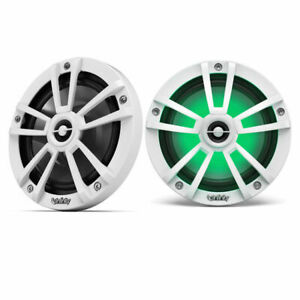 "Infinity 622MLW 450W 6.5"" 2-Way Coaxial Marine Speakers w/ RGB White"