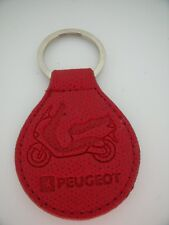 Porte-Clés / Key Ring SCOOTER PEUGEOT Cuir -Leather Or Simili TOP !