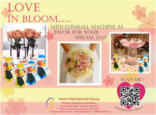 18 New Wedding Favor Gumball Machine, 6 Colors, Holiday Gifts, Sales, Free Ship