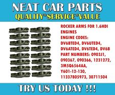 ROCKER ARMS X 16 FOR FORD FOCUS C MAX 1.6 TDCI 2007 > ONWARDS 1231272