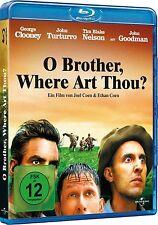 O BROTHER, WHERE ART THOU? (George Clooney, John Turturro) Blu-ray Disc NEU+OVP