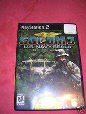 Play Station 2 SOCOM 3 US Navy Seals PS2