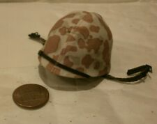 Alert Line USMC helmet with camo cover 1/6th scale toy accessory