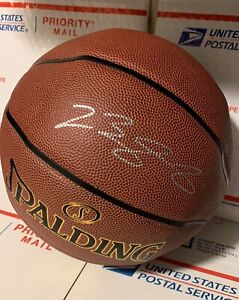 Lebron James autographed signed NBA basketball