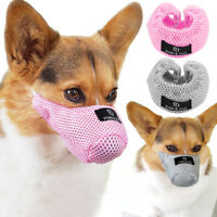 Anti-Bark Dog Muzzle Mesh Breathable Cat Muzzle Comfortable Safety Pet Muzzle M