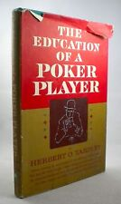 THE EDUCATION OF A POKER PLAYER - Herbert O Yardley - 1957 - 4th Printing