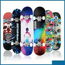 Skateboard Skate Board Longboard Komplettboard Ahorn Holzboard Funboard 20x80cm