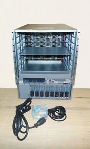 Cisco N9K-C9508-B1 Nexus 9508 Chassis Bundle with N9K-SUP-A 8 PS 2 SC 3 FM 3 FT