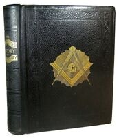 1908 FREEMASONRY HISTORY Antique MASONIC ILLUSTRATED KNIGHTS TEMPLAR OCCULT BOOK