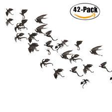 42 Pcs Wall Stickers 3D Dragon Wall Decor Decals Halloween Decorations