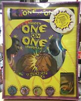 Shaquille & Hakeem Sealed Collector Edition Pogs One on One Milk Cap Battle Game