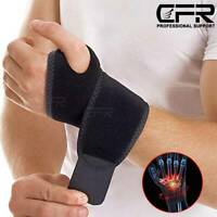 Wrist Band Support Compression Strap Carpal Tunnel Splint Arthritis Sprain Brace