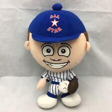 """All Star Baseball Doll Blue White Red National Entertainment Network Plush 12"""""""