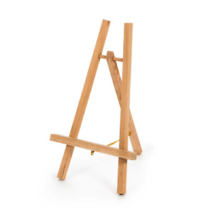 Loxley CHESHIRE Wooden Mini Display Easels for Paintings, Signs, Prints A4