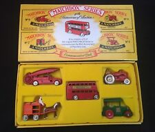 MATCHBOX SERIES 40th Anniversary Collection Commemorative 5 Pack - 1988 NEW OLD