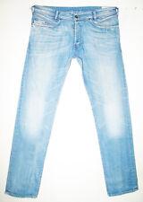 *HOT Men's DIESEL @ IAKOP 8W7 Slim TAPERED STRETCH Denim Jeans 36x34 (Fit 35x33)