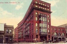 1916 CROWN HOTEL, PROVIDENCE, R. I. vintage autos - Flint & Co Furniture Store