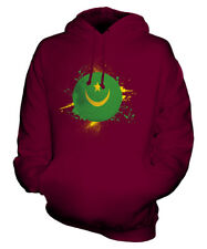 MAURITANIA FOOTBALL UNISEX HOODIE TOP GIFT WORLD CUP SPORT