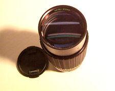Multicoated auto zoom 70 - 210 mm 1:4 Canon FD conexión