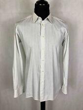 Valentino Herrenhemd Baumwolle Elegant Nadelstreifen Cotton Herr Hemd SZ.L - 50
