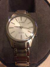 Citizen Eco-drive Women's Modena Silver-tone Bracelet 36mm Watch Em0590-54a
