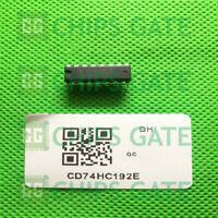 6PCS CD74HC192E IC PRESET SYNC 4-BIT HS 16-DIP TI
