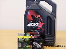Motul Öl 300V 15W50 / Racing - Ölfilter Yamaha YZF-R1 Bj 07 - 16