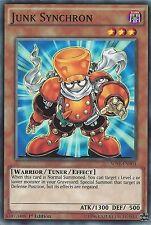 3x Yu-Gi-Oh card: Junk SYNCHRON-sdse-en004 1st Edition