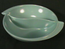 1950s BOONTON WARE N J USA~ATOMIC AGE~MELMAC~#605 DIVIDED DISH~SERVING BOWL