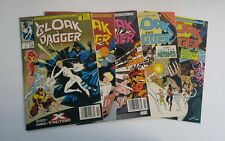 CLOAK and DAGGER (1988 3rd Series) #1,- 4, 11 Marvel Comics Lot of 5 FN/VF