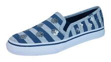 Keds Double Decker Girls Slip On Trainers Espadrilles KY55128 Blue UK 11.5 K
