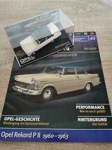Eaglemoss Opel Collection Modellauto 1:43 Opel Rekord P2 1960 - 1963