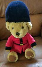 Harrods plush soft toy Teddy Bear British English Guard