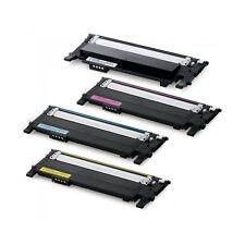 N. 4 TONER COMPATIBILE PER SAMSUNG Xpress C430 C480 C430W C480FN C480FW CLT 404