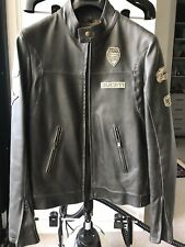 Motorcycle/Genuine/Ducati Historical leather jacket/ Size S/new Without Tag