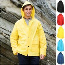 Light Weight Rain Coat Jacket Mac Waterproof Festival Camping Hiking Hooded Cape
