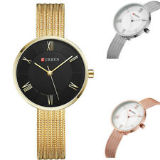Women's CURREN Fashion Analog Quartz Watches Dress Ladies wristwatch Bracelets