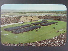 Colorado Springs Air Force Cadets Falcon Stadium Color Postcard c1950s Vintage